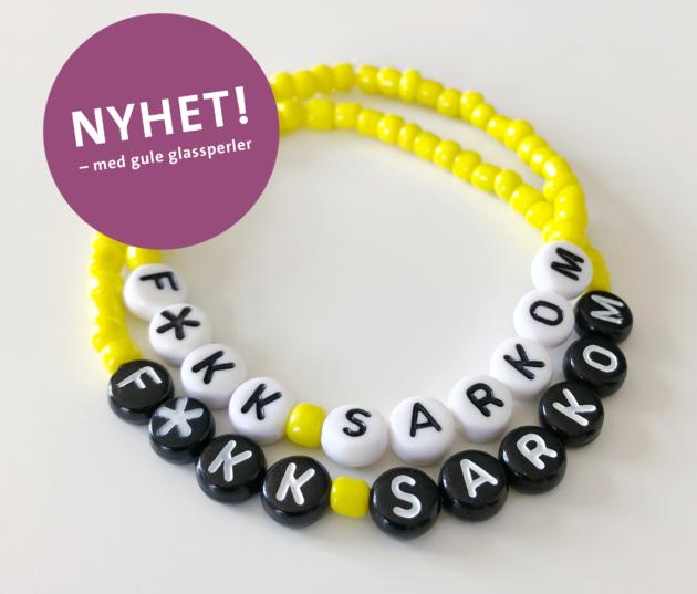NYTT Sarkom-armband 2018