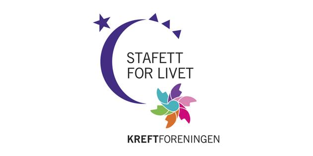 Logo stafett for livet