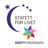 Logo stafett for livet