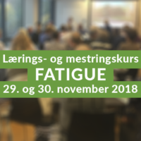 Mestringskurs Fatigue