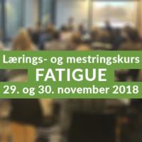 Mestringskurs Fatigue
