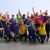 Deltagere og mentorer på reisen til Nepal i 2017