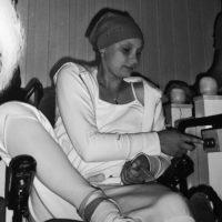 Bildet er fra sommeren 2009, ikke så lenge etter jeg ble operert første gang. I denne perioden fikk jeg fortsatt cellegift.